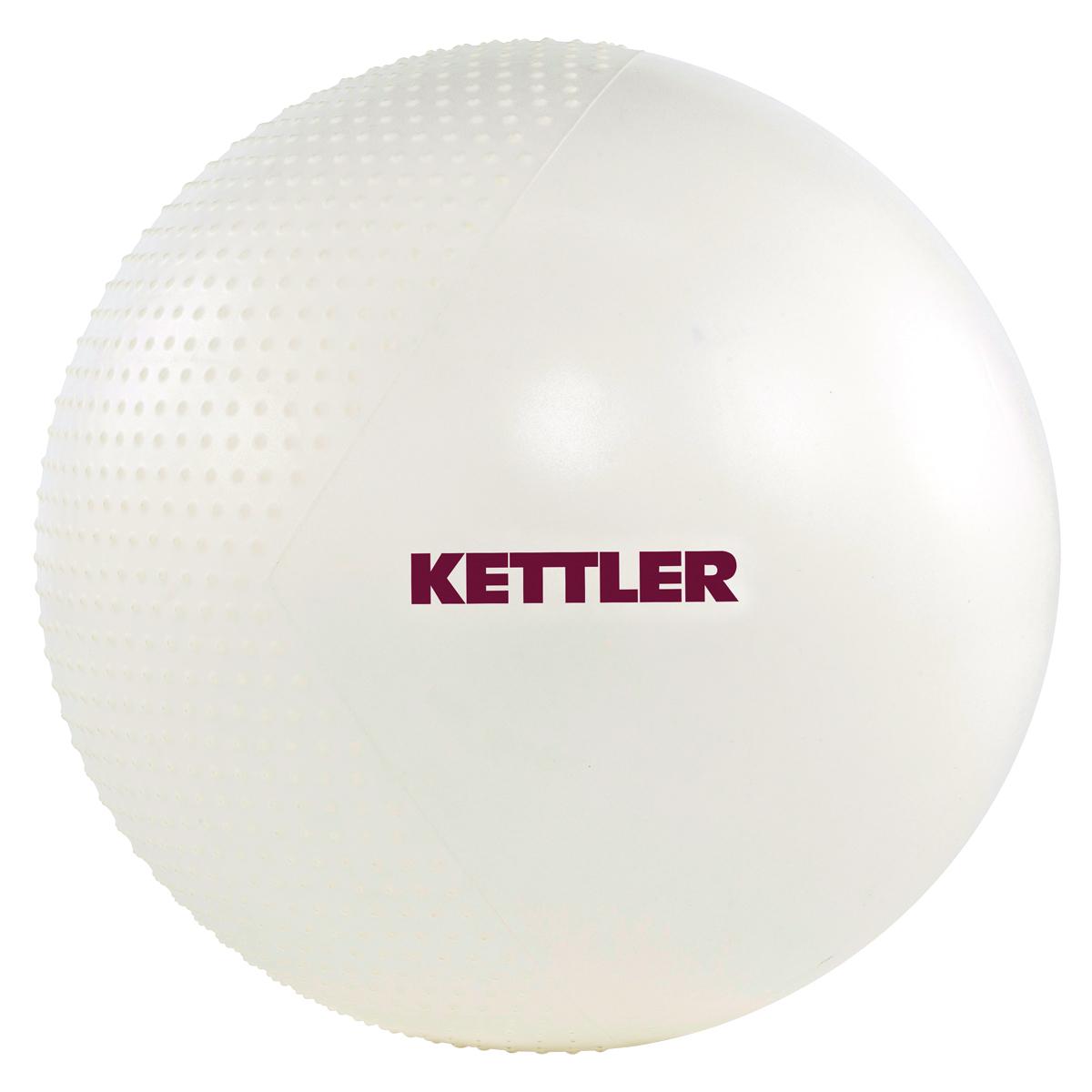 KETTLER gymnastický míč 65 cm - perleťový